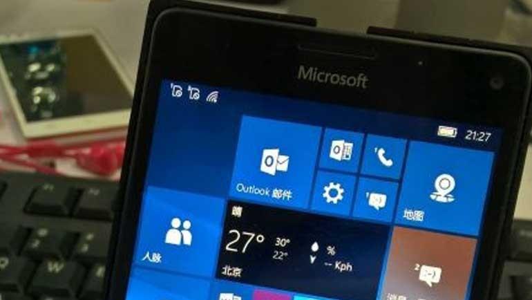 Microsoft Lumia 950 XL prototipi göründü!