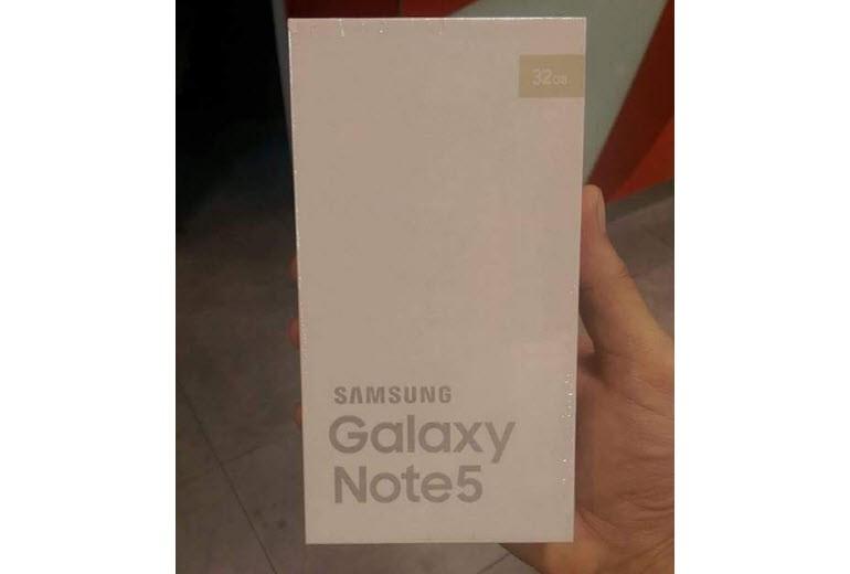 Galaxy Note 5'in kutusu sızdı!