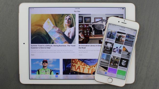 Apple News (eski adıyla Newsstand)