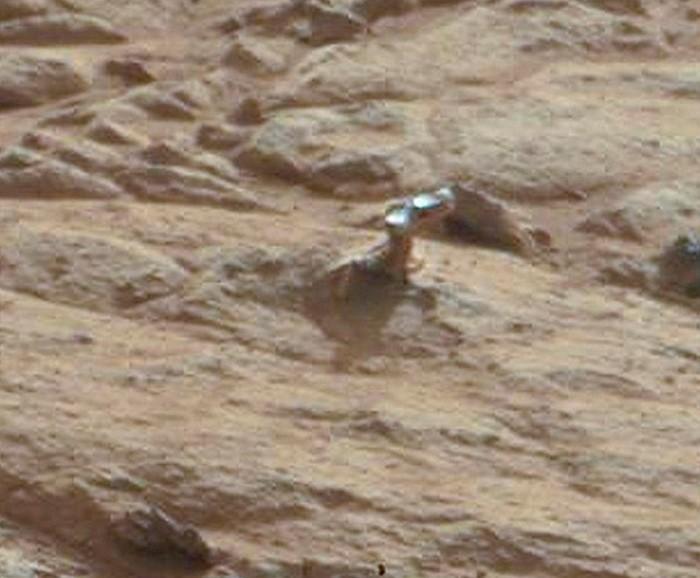 Mars'taki metal parçası