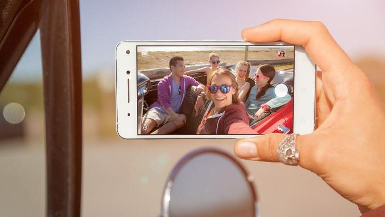 VIBE S1: Çift selfie kameralı