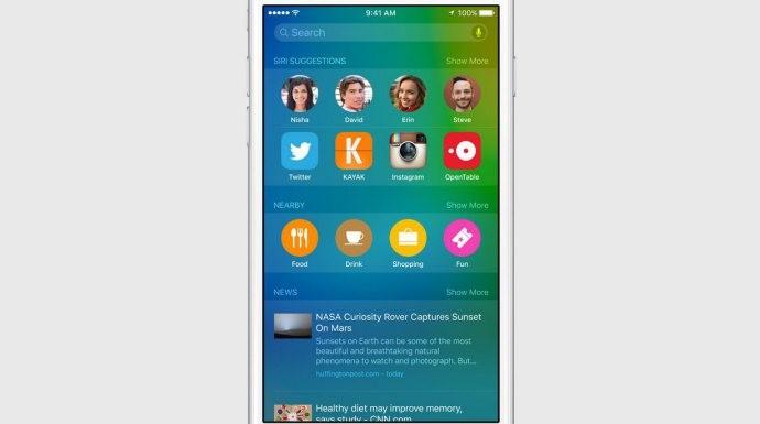 iOS 9'un Android'den ilham aldığı işlevler!