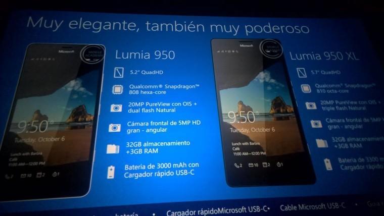 Lumia 950 XL'nin detayları ve fazlası sızdı!