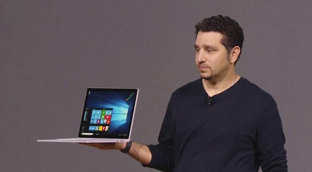 Ve Microsoft'tan ilk laptop: Surface Book