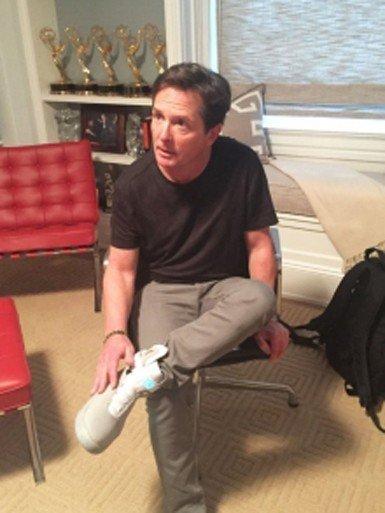 Marty'nin ayakkabıları artık gerçek!