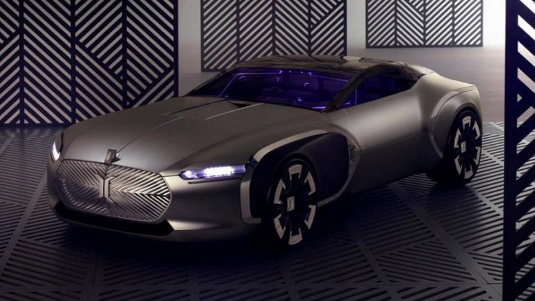 Renault'dan büyüleyen Coupé C konsepti