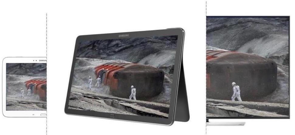 Dev tablet Galaxy View'dan yeni kareler sızdı