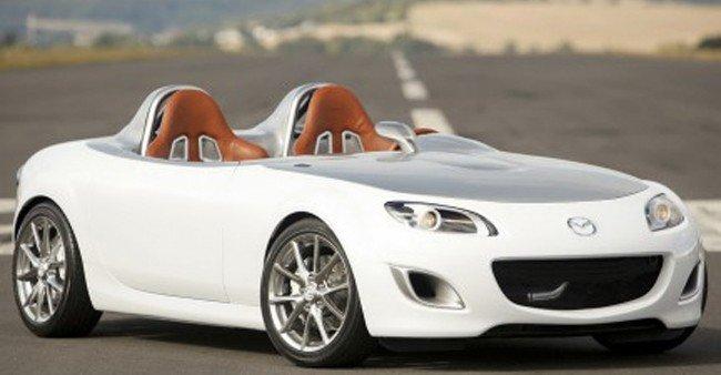 """Mazda'dan """"tüy gibi"""" hafif MX-5'ler!"""