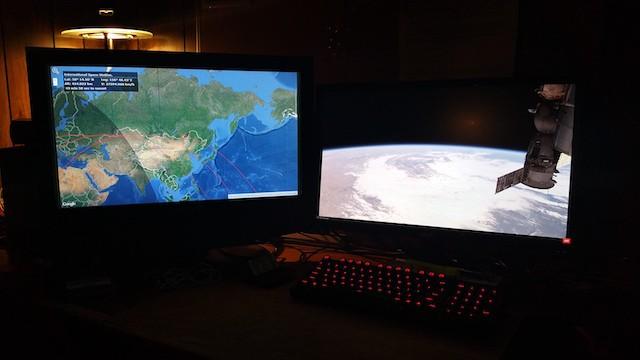2. ISS'den Dünya'ya bakış