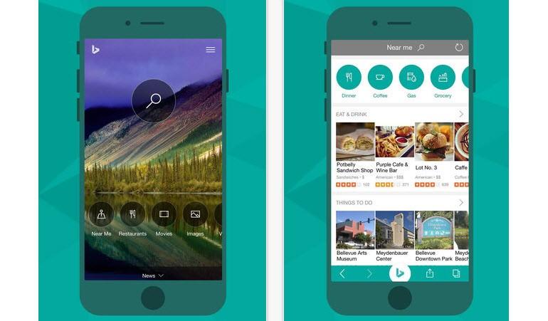 Microsoft'tan iOS'a yeni Bing uygulaması!