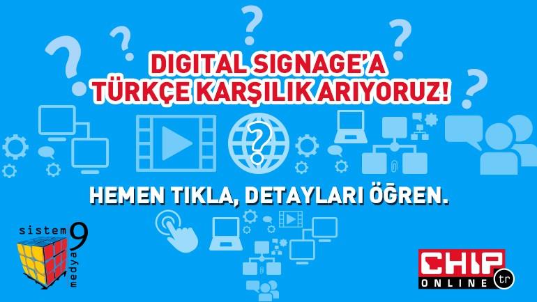 Kuşbakışı Digital Signage