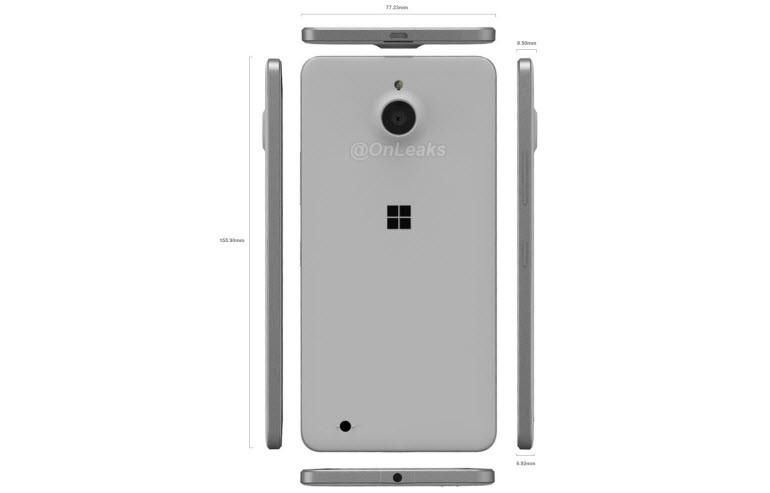Lumia 850'den kareler sızdı!