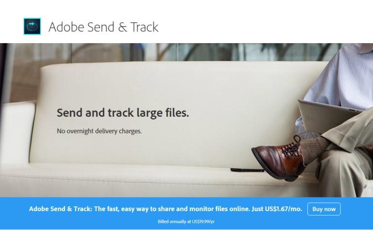 Adobe SendNow, Egnyte ve MailBigFile