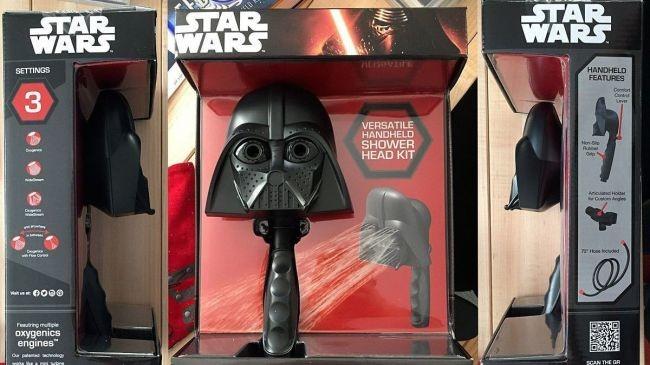 Darth Vader ve R2-D2 duş başlıkları