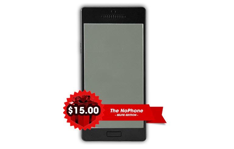Hiçbir işe yaramayan telefon NoPhone!