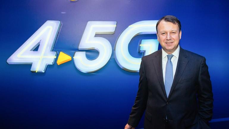 Turkcell 4.5G'de 1200 Mbps hıza ulaştı.