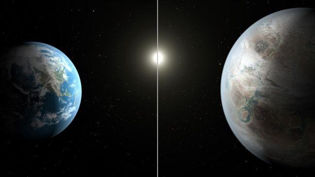Dünya benzeri bir gezegen bulduk