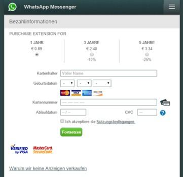 WhatsApp'ta kredi kartı tuzağı!