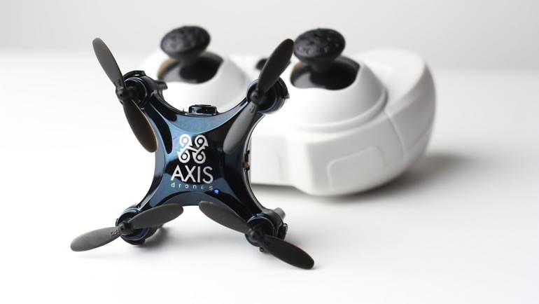 Kamera donanımlı en küçük drone: Axis Vidius!