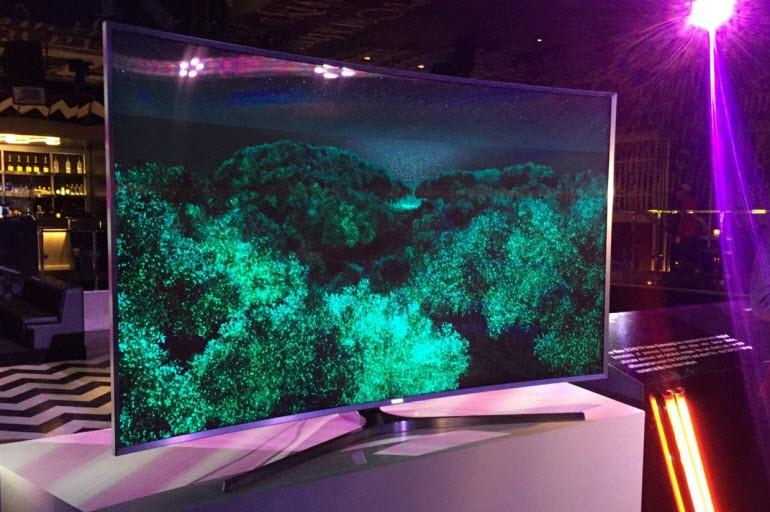 En iyi televizyon: Samsung SUHD with Quantum Dot