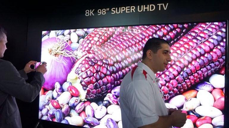 LG 8K Super UHD TV