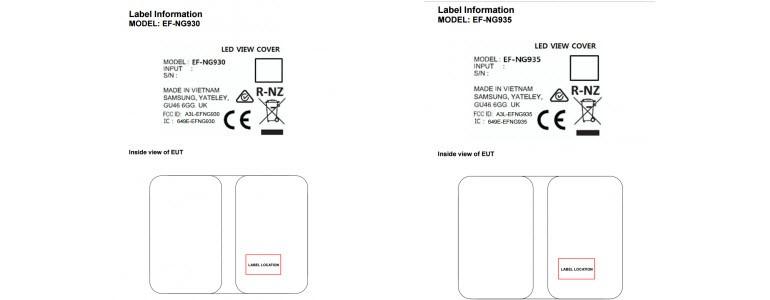 Galaxy S7 View Cover kılıfı sertifikalandı!