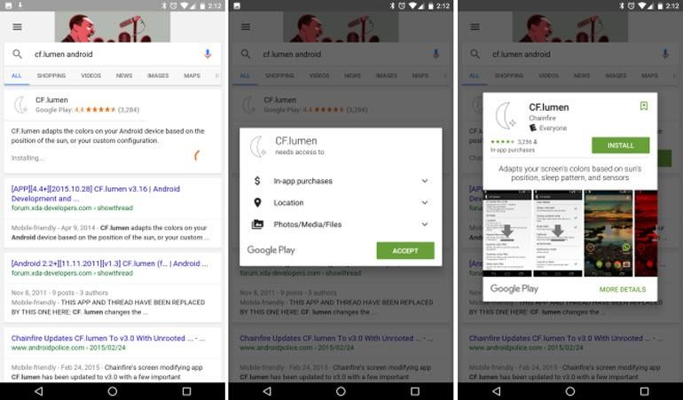 Google'dan Android'e yeni işlev!