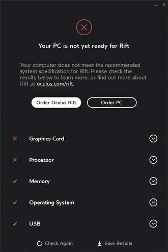 Bilgisayarınız sanal gerçekliğe hazır mı?