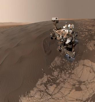 Mars'tan yeni selfie geldi!