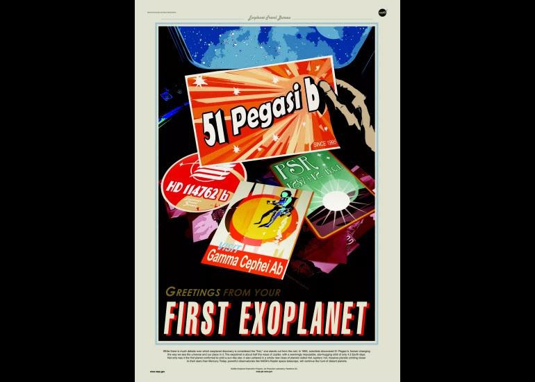 NASA'dan geleceğin posterleri