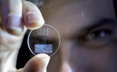 360TB veri taşıyabilen cam disk!