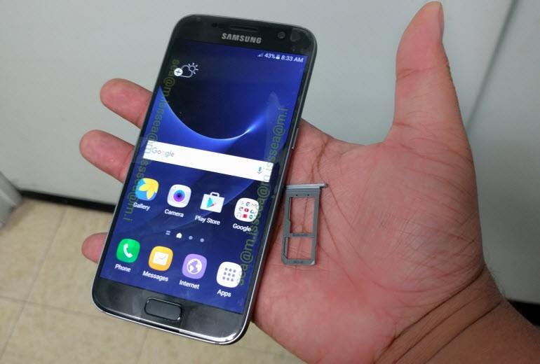 Galaxy S7'den yeni kareler ve bir video!