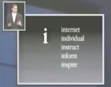 """iPhone'un """"i"""" harfi ne anlama geliyor?"""