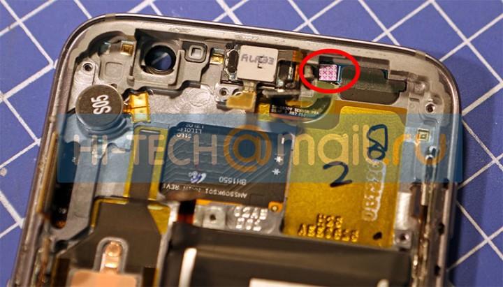 """Galaxy S7'nin """"iç organları"""" ortaya çıktı!"""
