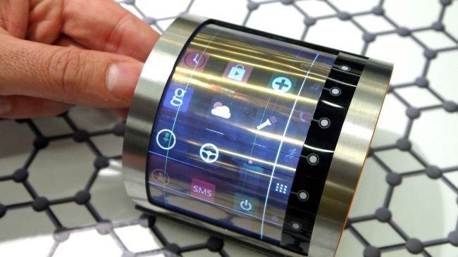 Geleceğin telefon ekranları böyle olacak!