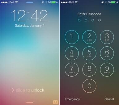 Telefonu güvenlik kodsuz kullanmak