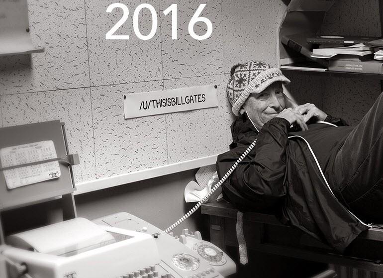 Gates, 1973'deki fotoğrafını tekrar oluşturdu