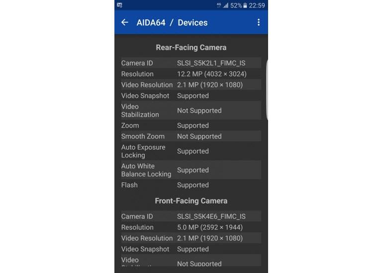 Galaxy S7'lerde iki farklı kamera var!