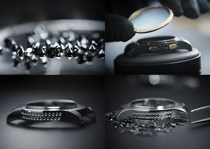 Göz kamaştıran altın Samsung Gear S2!