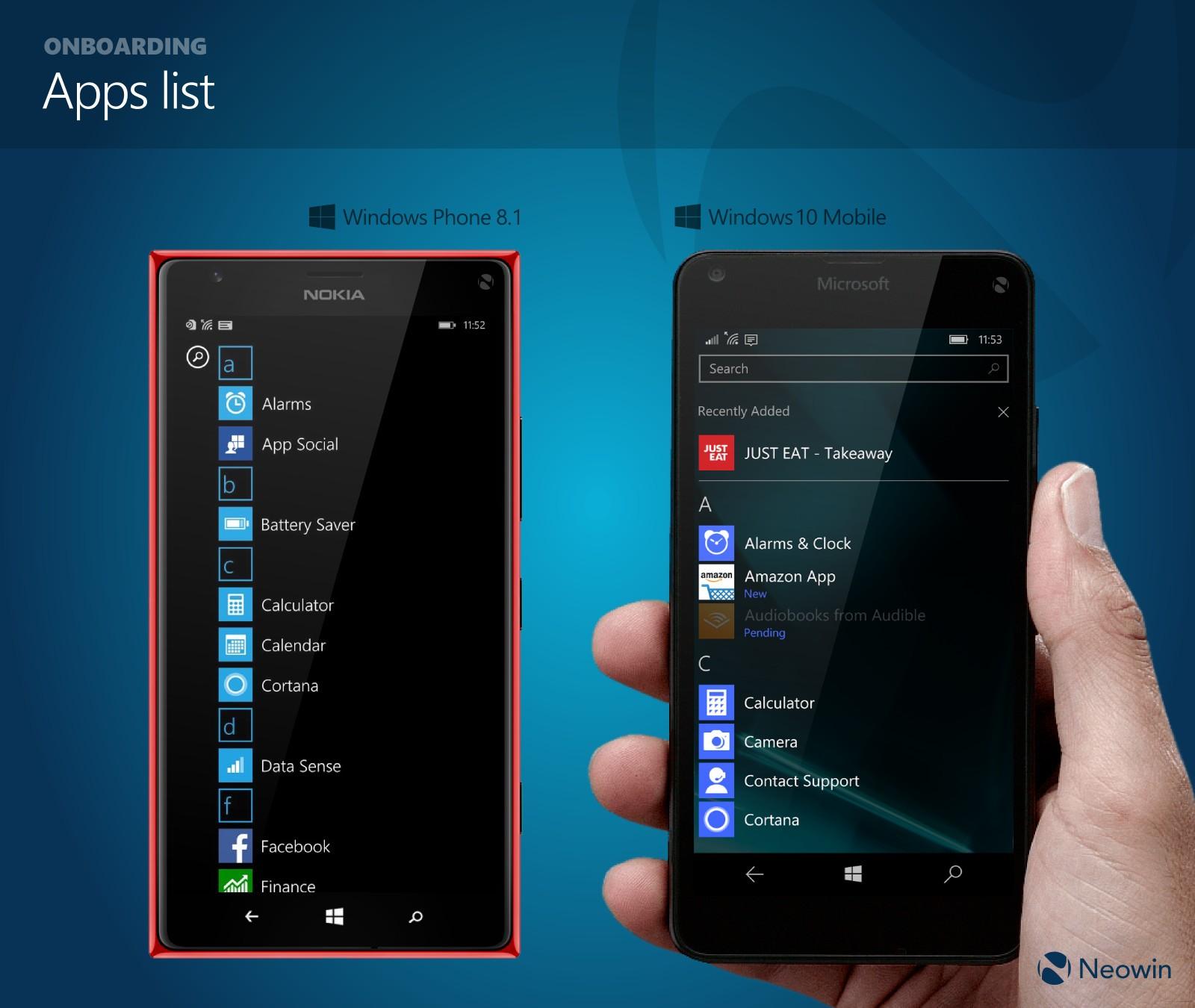 Resimlerle Windows 10 Mobile!