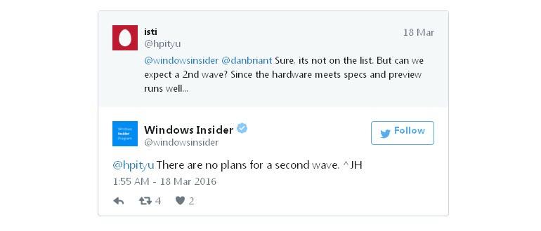 """İkinci Windows 10 Mobile """"dalgası"""" olmayacak!"""