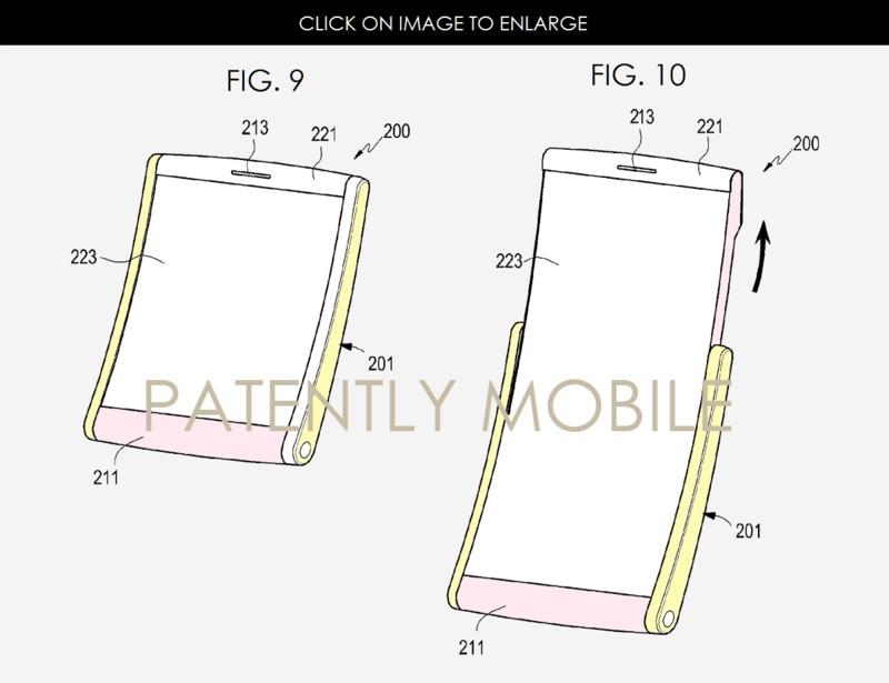 Samsung'dan o ekranlar için yeni patent!