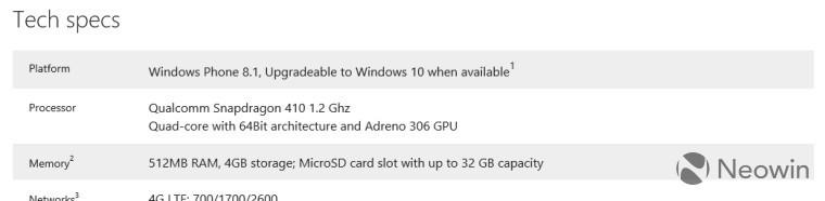 Windows 10 Mobile yok; reklamı var!
