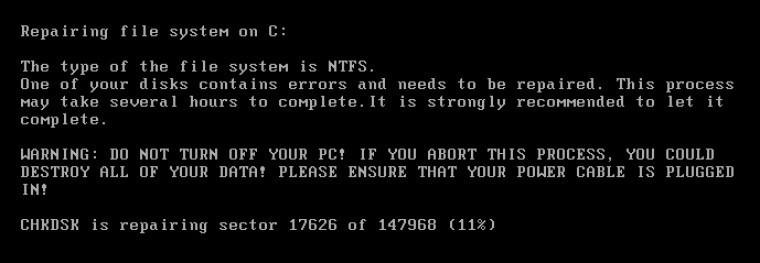 Diskinizi şifrelediğini iddia eden ransomware