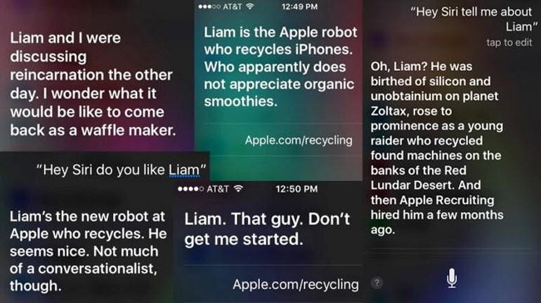 Apple'ın Liam'ını Siri'ye sorun!