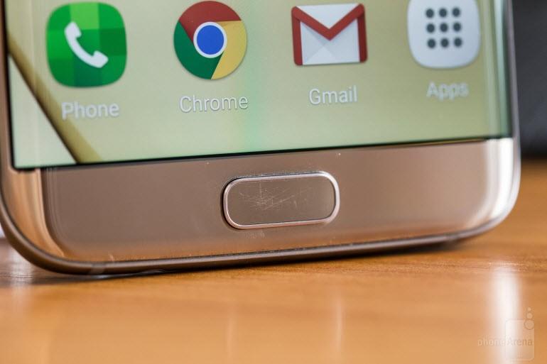 Galaxy S7'nin home düğmesi kolay çiziliyor!