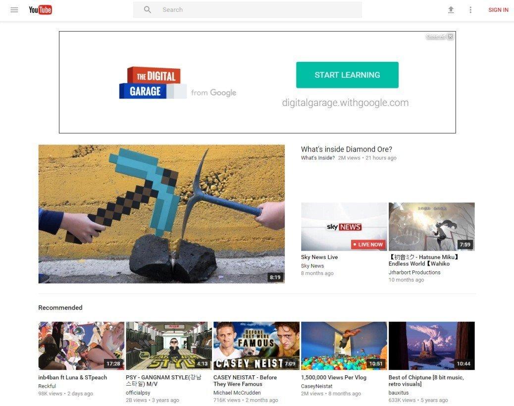 YouTube, Material Design'la yenileniyor!