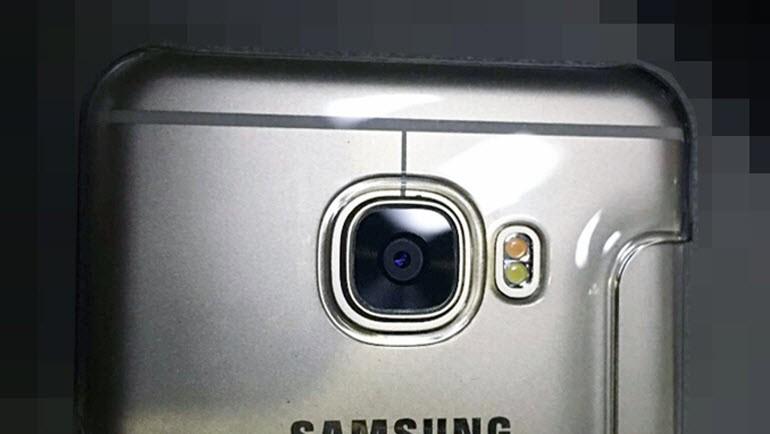 Galaxy C5'in metal gövdesi göründü!