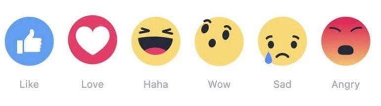 """Facebook'un yeni tepkileri """"beğenildi"""" mi?"""