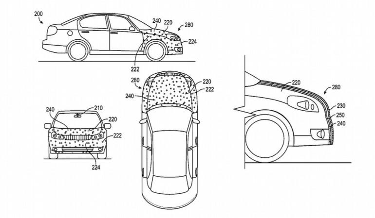 Google'dan otonom araçlar için ilginç patent!